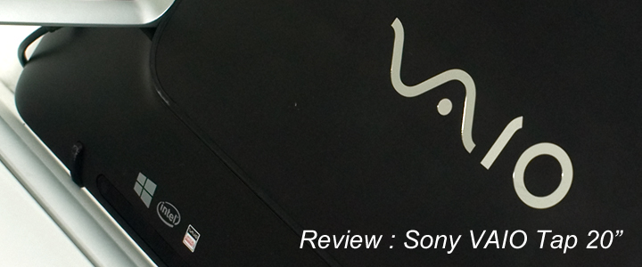 default thumb Review : Sony VAIO Tap 20