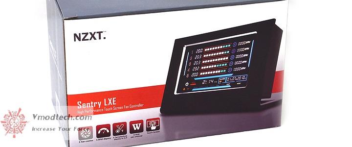 default thumb NZXT Sentry LXE High Performance Screen Fan Controller