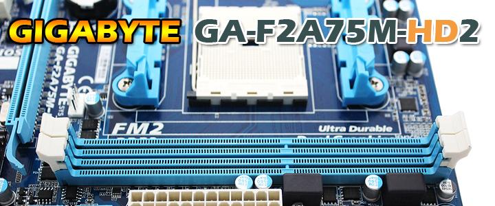 GIGABYTE GA-F2A75M-HD2