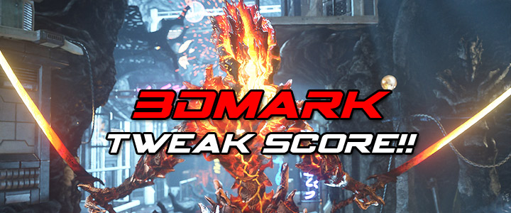 default thumb 3DMark Tweak Score!!