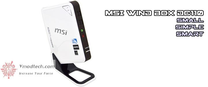 MSI Wind Box DC110 Mini PC Review