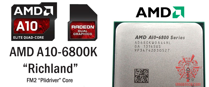 AMD A10-6800K PROCESSOR REVIEW