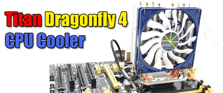 Titan Dragonfly 4 CPU Cooler