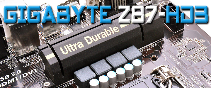 GIGABYTE Z87-HD3 Motherboard Review