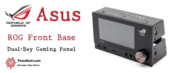 default thumb Asus ROG Front Base Dual-Bay Gaming Panel