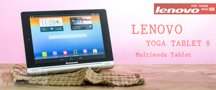 default thumb LENOVO YOGA TABLET 8 Multimode Tablet Review