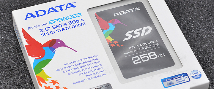 ADATA Premier Pro SP920SS Series 256GB Solid State Drive Review