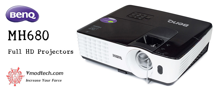 BenQ MH680 Full HD Projectors Enjoy Premium Image Performance