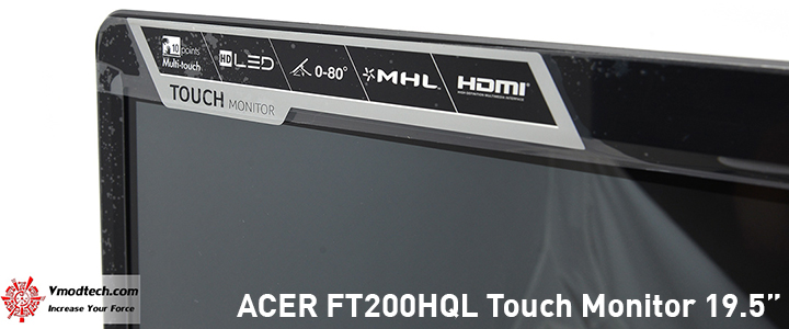 default thumb ACER FT200HQL Touch Monitor 19.5
