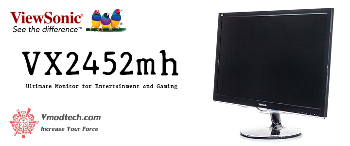 default thumb ViewSonic VX2452mh Ultimate Monitor for Entertainment and Gaming