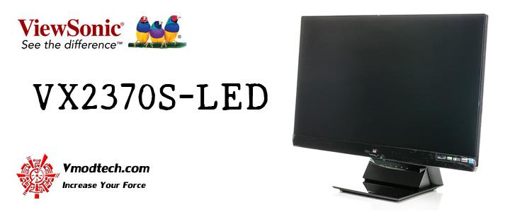 default thumb ViewSonic VX2370S-LED Monitor Review