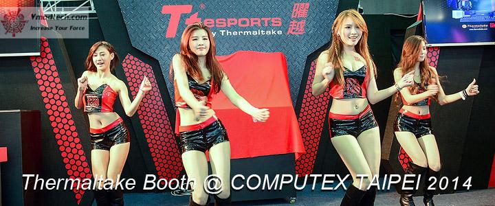 Thermaltake Booth @ COMPUTEX TAIPEI 2014