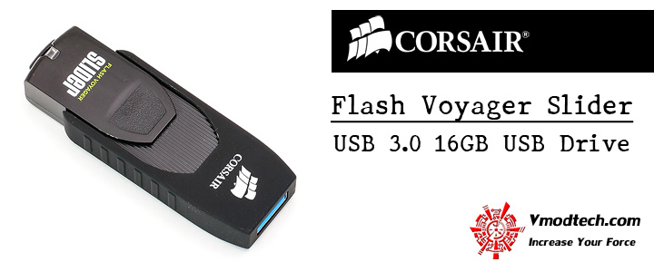 default thumb CORSAIR Flash Voyager® Slider USB 3.0 16GB USB Drive