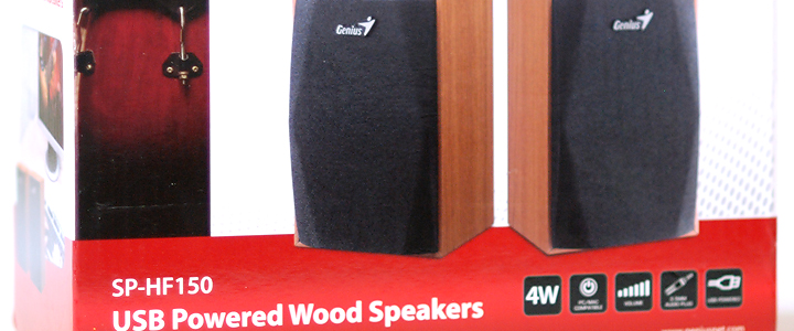 Review: Genius SP-HF150 USB Powered Wood Speakers