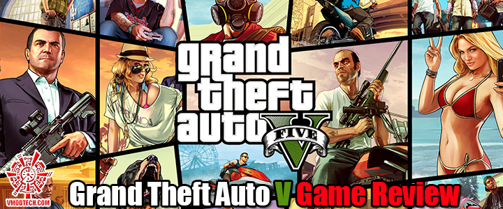 default thumb Grand Theft Auto V Game Review