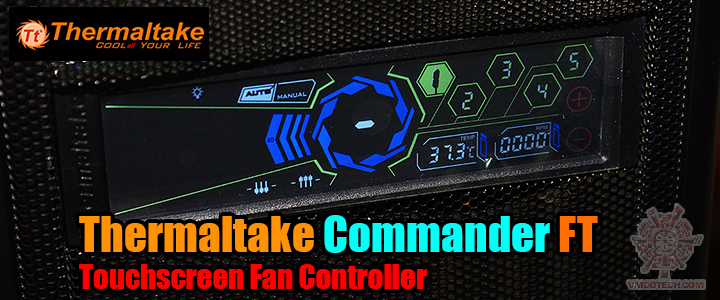 default thumb Thermaltake Commander FT Touchscreen Fan Controller