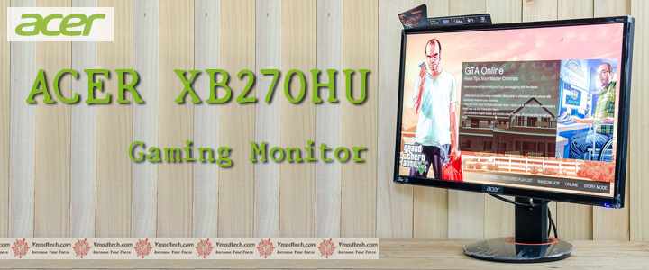 default thumb ACER XB270HU Gaming Monitor Review