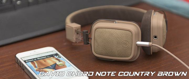 default thumb GAVIO Chord Note Country Brown Headset Review