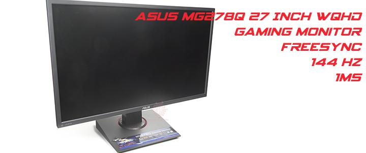 default thumb ASUS MG278Q 27-inch WQHD GAMING Monitor Review