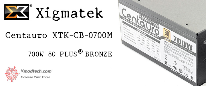 default thumb Xigmatek Centauro XTK-CB-0700M 700W 80 PLUS® BRONZE Power Supply Review