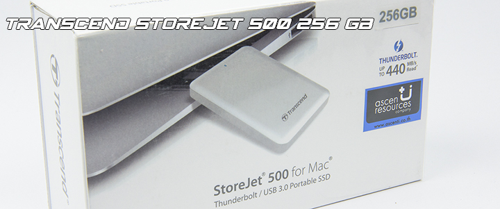 default thumb Transcend StoreJet 500 256 GB For MAC