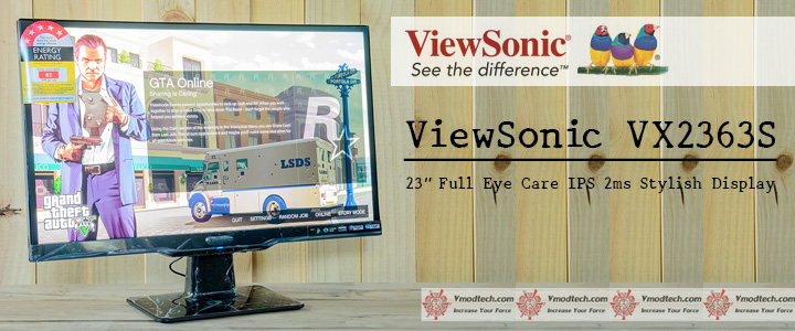 default thumb ViewSonic VX2363S 23 inch Full Eye Care IPS 2ms Stylish Display Review