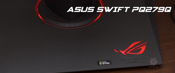 ASUS SWIFT PQ279Q 27 Inch WQHD 165Hz IPS Gaming Monitor Review