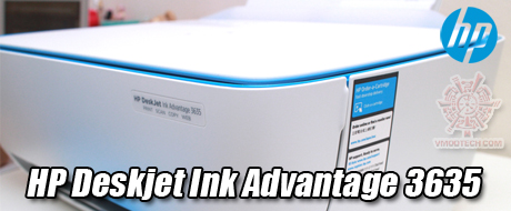 HP Deskjet Ink Advantage 3635