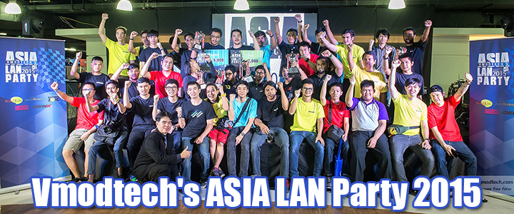 default thumb Vmodtech's ASIA LAN Party 2015 Part2