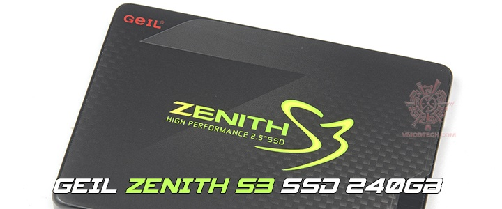 GEIL ZENITH S3 SSD 240GB Review