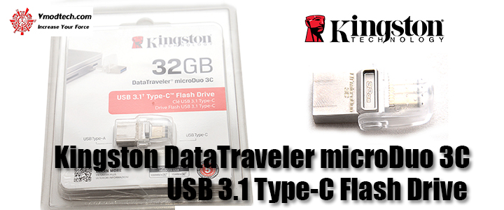 Kingston DataTraveler 32GB microDuo 3C USB 3.1 Type-C Flash Drive Review