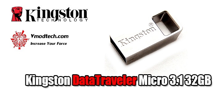 Kingston DataTraveler Micro 3.1 32GB Review