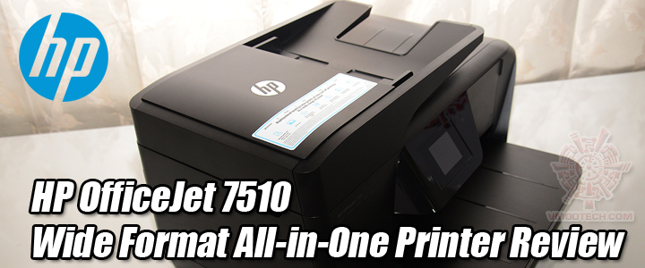 HP OfficeJet 7510 Wide Format All-in-One Printer Review