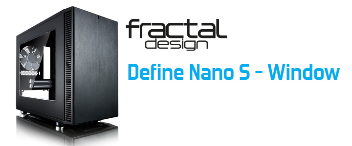 Fractal Design Define Nano S-Window