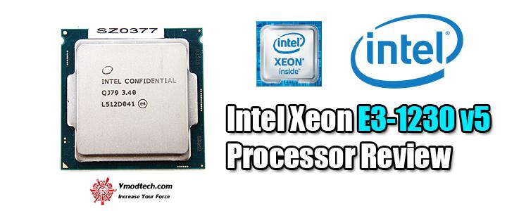 default thumb Intel Xeon E3-1230 v5 Processor Review