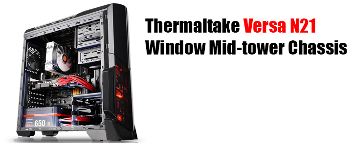 default thumb Thermaltake Versa N21 Window Mid-tower Chassis