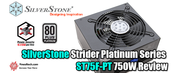 default thumb SilverStone Strider Platinum Series ST75F-PT 750W Review