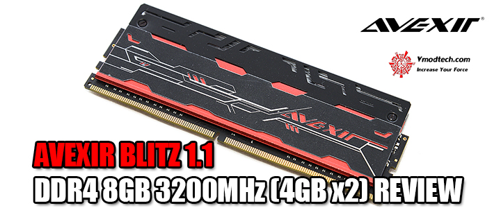 default thumb AVEXIR BLITZ 1.1 DDR4 8GB 3200MHz (4GB x2) REVIEW