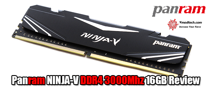 default thumb Panram NINJA-V DDR4 3000Mhz 16GB Review