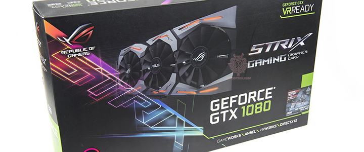 ASUS ROG Strix GeForce® GTX 1080 Review