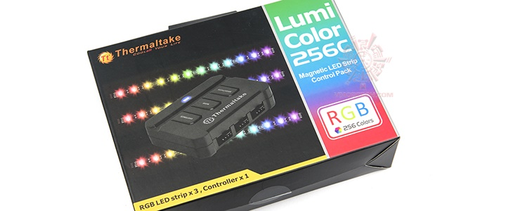 default thumb Thermaltake Lumi Color 256C Review