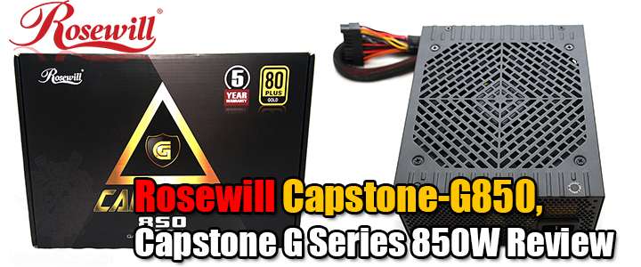 Rosewill Capstone-G850, Capstone G Series 850W Review