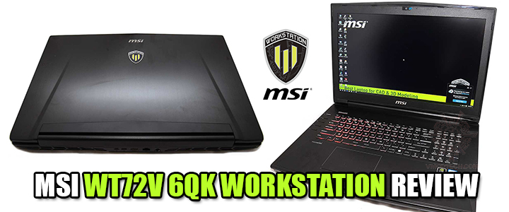 default thumb MSI WT72V 6QK WORKSTATION REVIEW