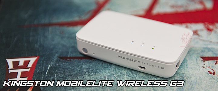 KINGSTON Mobilelite Wireless G3 Review