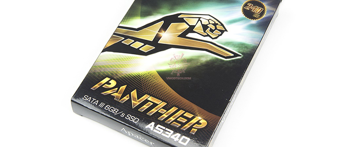 APACER PANTHER AS340 240GB Review