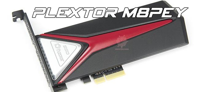 PLEXTOR M8PeY NVMe SSD PCIe Gen 3x4 256GB Review
