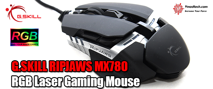 default thumb G.SKILL RIPJAWS MX780 RGB Laser Gaming Mouse Review