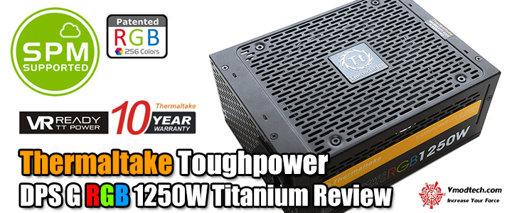 Thermaltake Toughpower DPS G RGB 1250W Titanium Review