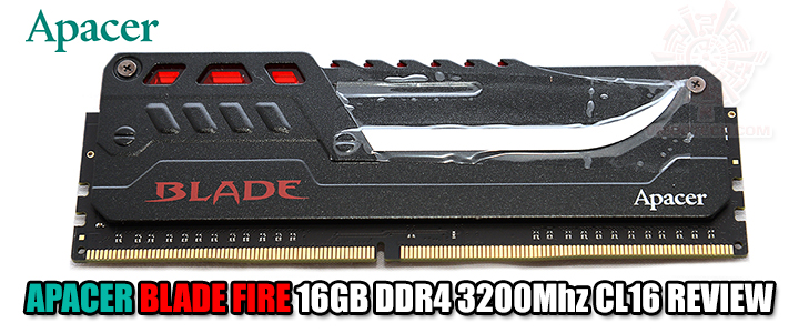default thumb APACER BLADE FIRE 16GB DDR4 3200Mhz CL16 REVIEW