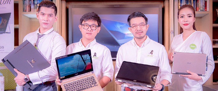 ภาพบรรยากาศงาน Acer เอเซอร์เปิดตัวพรีเมียมโน้ตบุ๊ค 4 รุ่น และรุ่นประหยัดสุดสวยอีก 1 รุ่น ในสไตล์ Just For You